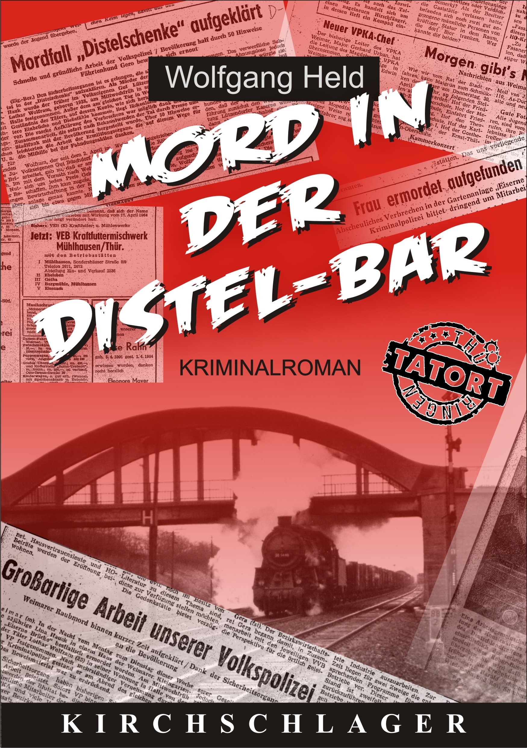 Cover Mord in der Distel-Bar