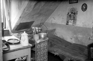 Haarmanns Dachwohnung, in der er seine Opfer umbrachte.
